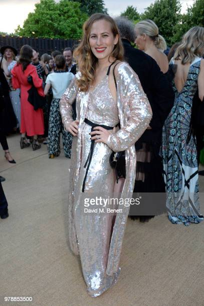 Charlotte Dellal attends the annual summer party in partnership with Chanel at The Serpentine Pavilion on June 19 2018 in London England