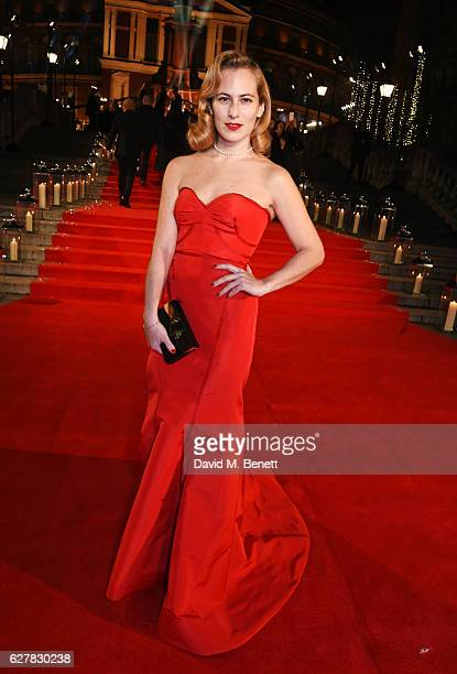 Charlotte Dellal attends The Fashion Awards 2016 at Royal Albert Hall on December 5 2016 in London United Kingdom