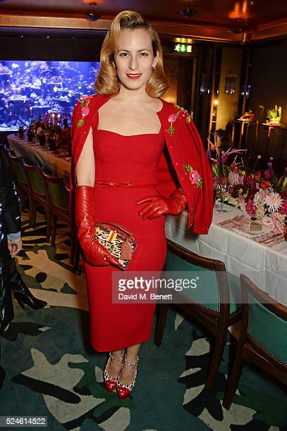 Charlotte Dellal attends the launch of the new Venyx Oseanyx collection hosted by Eugenie Niarchos and Lucy Yeomans at Sexy Fish on April 26 2016 in...