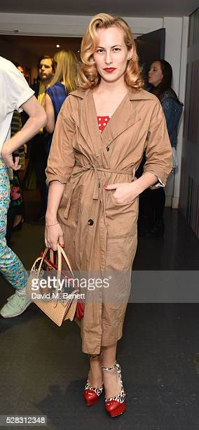 Charlotte Dellal attends the 'Missoni Art Colour' private view and dinner in partnership with Woolmark at The Fashion and Textile Museum on May 4,...