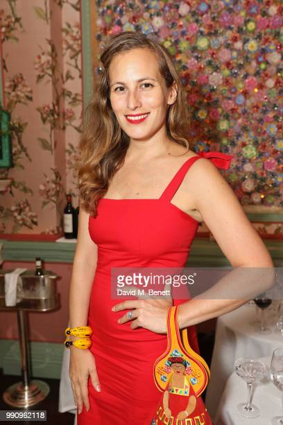 Charlotte Dellal attends the Mrs Alice x Misela launch event at Annabel's on July 3 2018 in London England