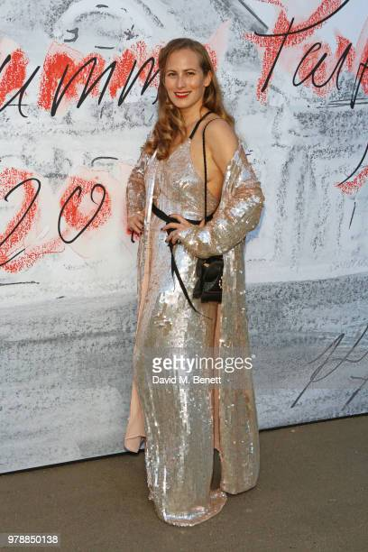 Charlotte Dellal attends the Serpentine Summper Party 2018 at The Serpentine Gallery on June 19 2018 in London England