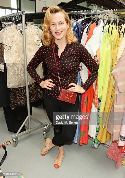 Charlotte Dellal attends the #SheInspiresMe Car Boot Sale presented by The Store and Brewer Street Car Park in aid of Women for Women International...