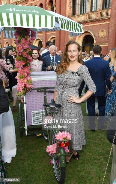 Charlotte Dellal attends the Summer Party at the VA in partnership with Harrods at the Victoria and Albert Museum on June 20 2018 in London England