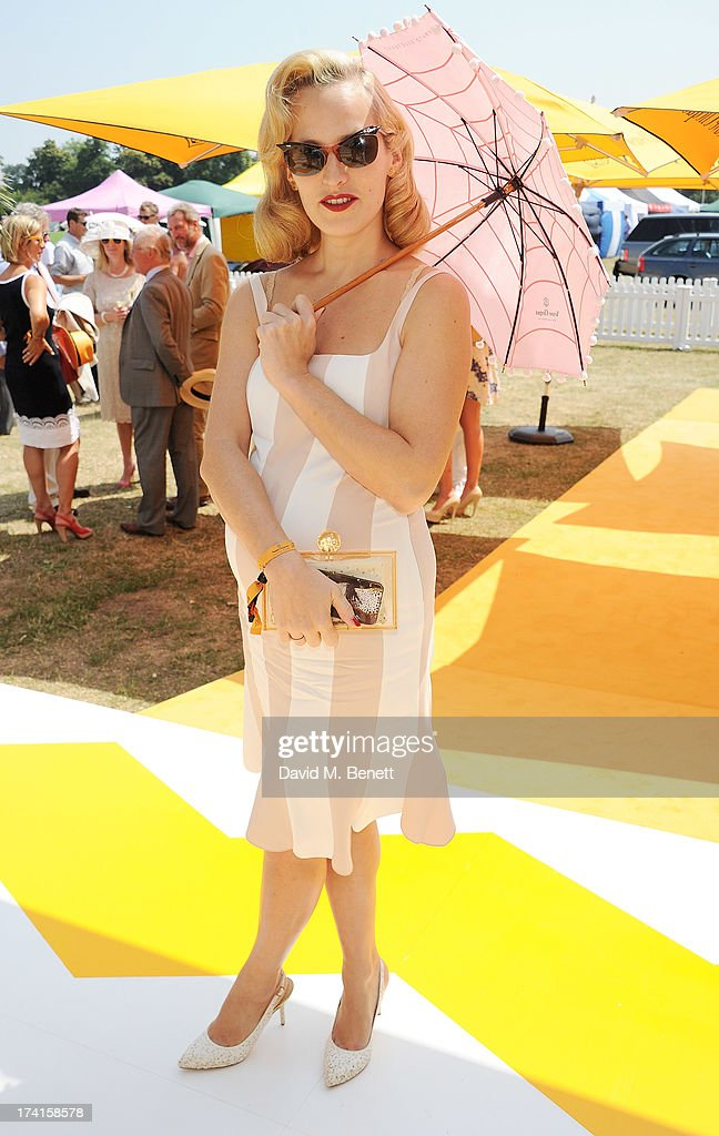 Charlotte Dellal attends the Veuve Clicquot Gold Cup Final at Cowdray Park Polo Club on July 21, 2013 in Midhurst, England.