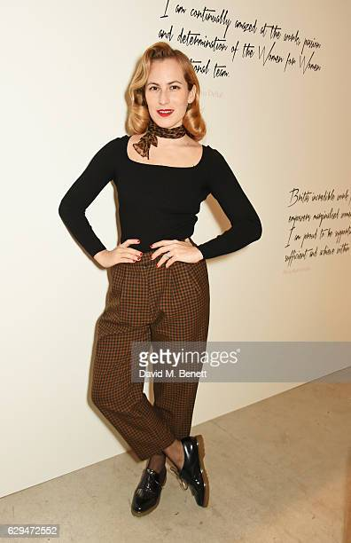 Charlotte Dellal attends the VIP launch of #SheInspiresMe Fashion a limited edition designer collaboration in aid of Women For Women International at...