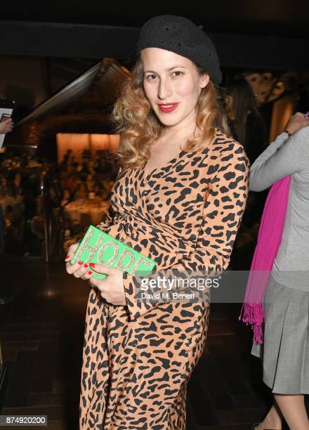 Charlotte Dellal attends the Women for Women International's #SheInspiresMe lunch at Quaglino's on November 16 2017 in London England