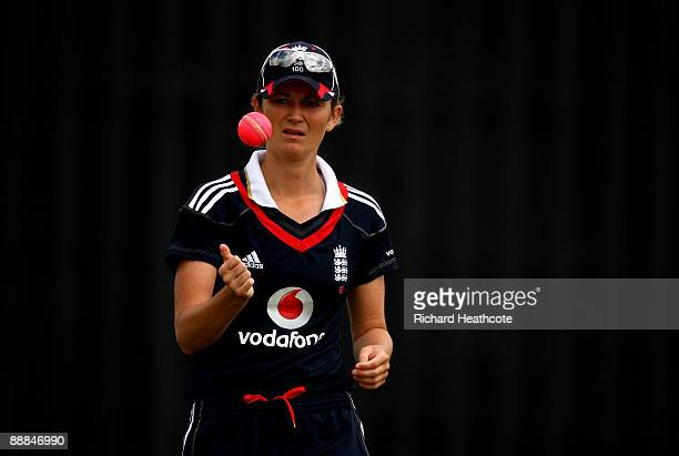 Charlotte Edwards of England during the One Day International match between England Women and Australia Women at Wormsley Cricket Ground on July 5,...