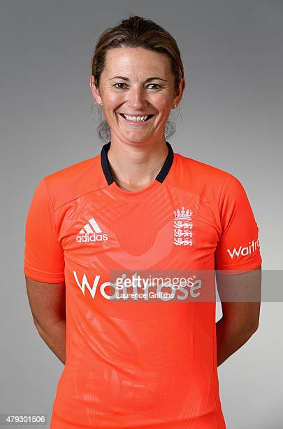 Charlotte Edwards of England poses for a portrait at the National Cricket Performance Centre on July 1 2015 in Loughborough England