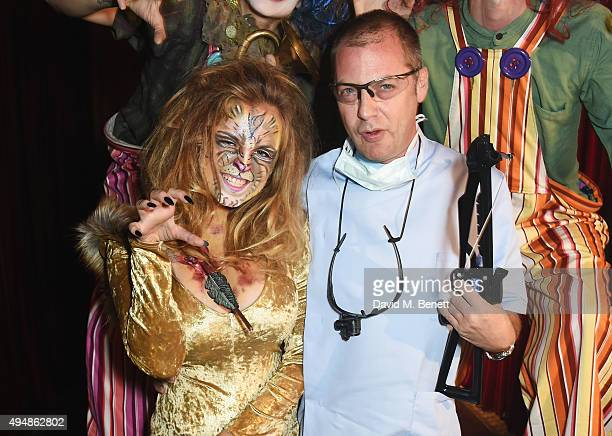 Charlotte Emma Freud and Matthew Freud attend The Unicef UK Halloween Ball raising vital funds to support Unicef's lifesaving work for Syrian...