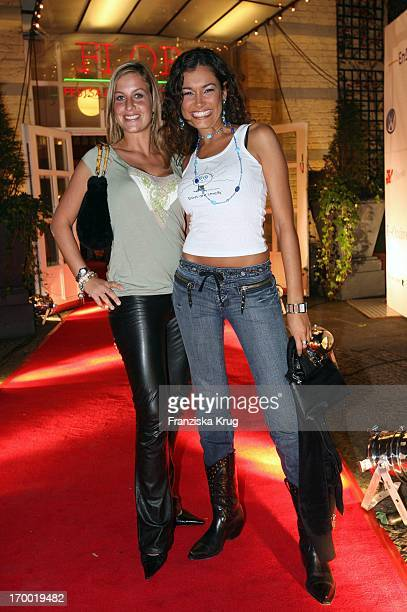 Charlotte Engelhardt And Jana Ina Berenhauser In The Media Meeting Square One In The Flora Cologne