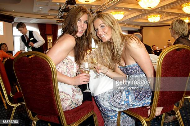 Charlotte Engelhardt and sister Henriette attend the Starcookers Award 2009 at Yacht Harbor Hohe Duene on May 9 2009 in Rostock Germany