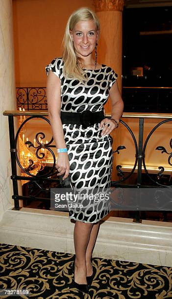 Charlotte Engelhardt attends the Movie Meets Media Party during the 57th Berlin International Film Festival on February 9 2007 in Berlin Germany
