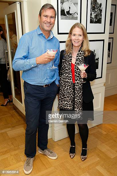 Charlotte Evans and Tim Fay attend the Salt Launch Party with Conde Nast International on October 11 2016 in London England