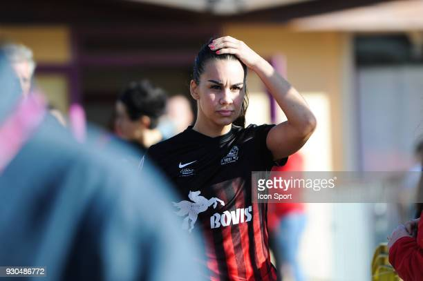 Charlotte Fernandes of FC Fleury before the French Women Division 1 match between Fleury and Albi on March 11 2018 in Fleury France