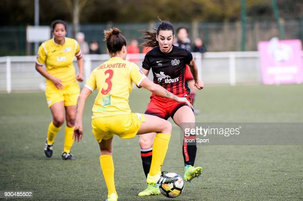 Charlotte Fernandes of FC FLeury during the French Women Division 1 match between Fleury and Albi on March 11 2018 in Fleury France