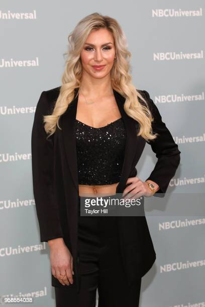 Charlotte Flair attends the 2018 NBCUniversal Upfront Presentation at Rockefeller Center on May 14 2018 in New York City