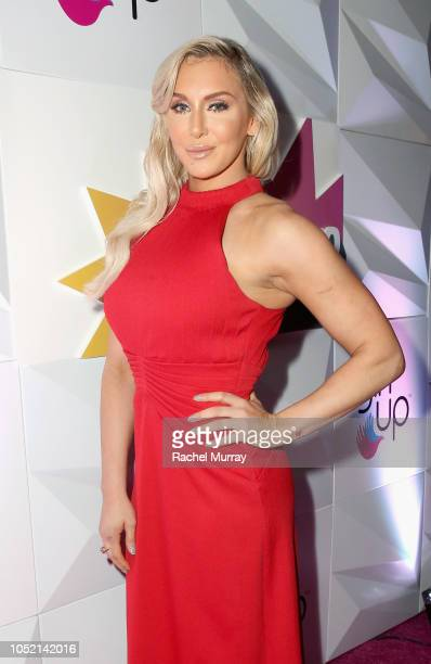 Charlotte Flair attends the Girl Up #GirlHero Awards Luncheon at SLS Hotel on October 14 2018 in Beverly Hills California