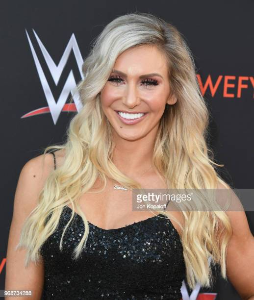 Charlotte Flair attends WWE's FirstEver Emmy For Your Consideration Event at Saban Media Center on June 6 2018 in North Hollywood California
