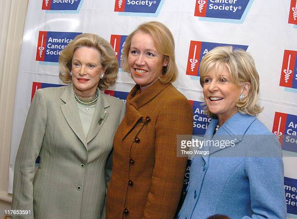Charlotte FordLibby Pataki and Anne Ford during Charlotte Ford and Anne Ford to be Honored as Mothers of the Year at St Regis Hotel in New York City...