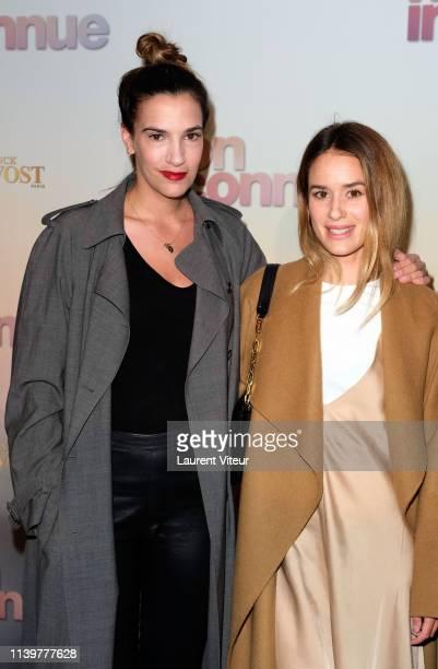 Charlotte Gabris and guest attend Mon Inconnue Premiere at Cinema UGC Normandie on April 01 2019 in Paris France
