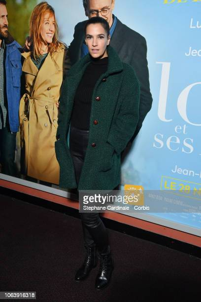 Charlotte Gabris attends 'Lola Et Ses Freres' Paris Premiere on November 20 2018 in Paris France