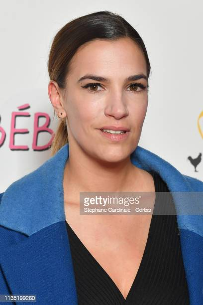 Charlotte Gabris attends Mon Bebe Paris Premiere at Cinema Gaumont Opera on March 11 2019 in Paris France