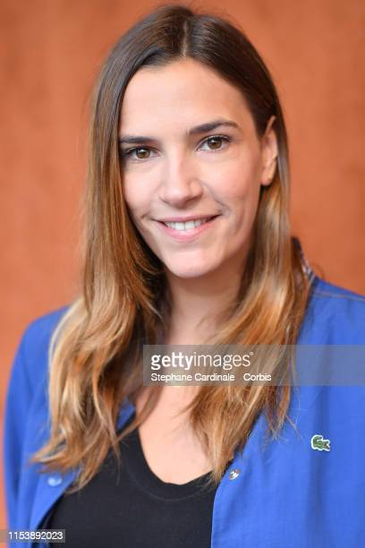 Charlotte Gabris attends the 2019 French Tennis Open Day Eleven at Roland Garros on June 05 2019 in Paris France