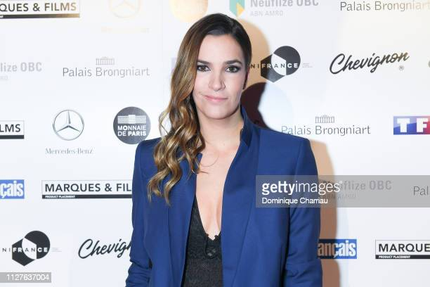 Charlotte Gabris attends the 26th Trophees Du Film Francais Photocall at Palais Brongniart on February 05 2019 in Paris France