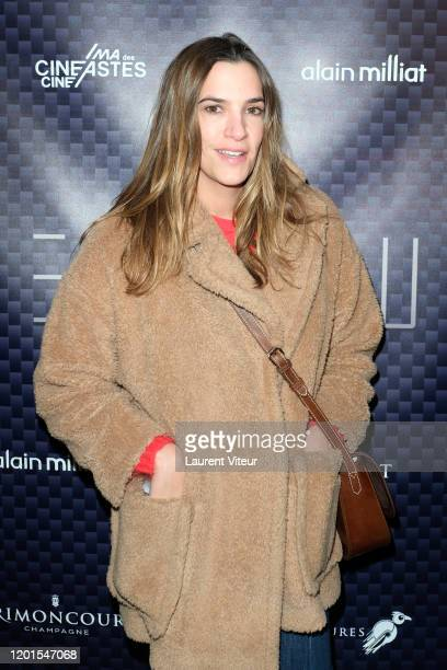 Charlotte Gabris attends VeRsus an exhibition by Nicolas Bary at Cinema des Cineastes on January 23 2020 in Paris France