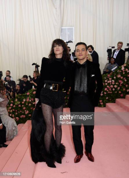 Charlotte Gainsbourg and Rami Malek attend Met Gala Celebrating Camp: Notes On Fashion - Arrivals at the Metropolitan Museum of Art in New York City...