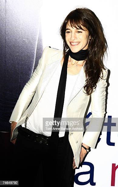 Charlotte Gainsbourg at the UGC Normandy in Paris France