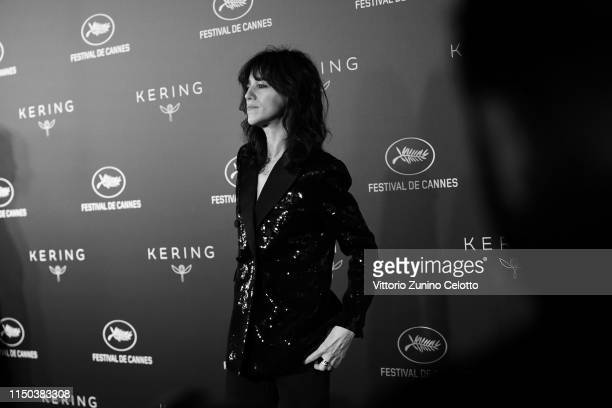 Charlotte Gainsbourg attends Kering And Cannes Film Festival Official Dinner at Place de la Castre on May 19 2019 in Cannes France