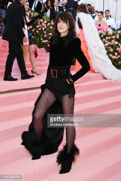 Charlotte Gainsbourg attends The 2019 Met Gala Celebrating Camp Notes on Fashion at Metropolitan Museum of Art on May 06 2019 in New York City