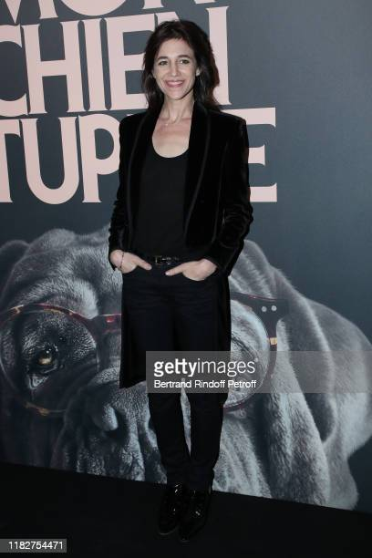 Charlotte Gainsbourg attends the Mon Chien Stupide premiere at UGC Normandie on October 22 2019 in Paris France