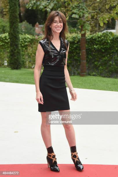 Charlotte Gainsbourg attends the 'Nymphomaniac Volume 1 Directors Cut' Premiere during the 71st Venice Film Festival at Sala Darsena on September 1...