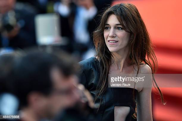 Charlotte Gainsbourg attends the 'Nymphomaniac Volume 2 Directors Cut' premiere during the 71st Venice Film Festival on September 1 2014 in Venice...