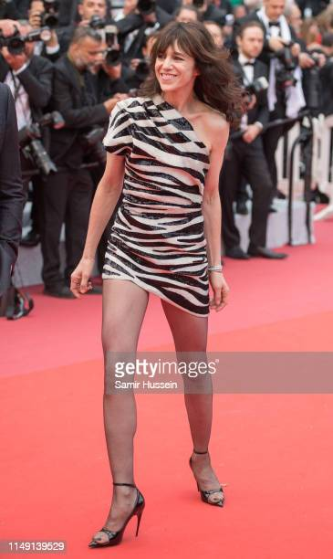 Charlotte Gainsbourg attends the opening ceremony and screening of The Dead Don't Die during the 72nd annual Cannes Film Festival on May 14 2019 in...