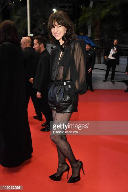 Charlotte Gainsbourg attends the screening of Lux Aeterna during the 72nd annual Cannes Film Festival on May 18 2019 in Cannes France
