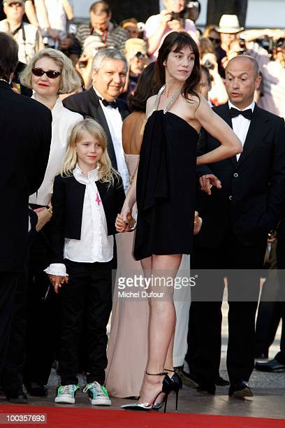 Charlotte Gainsbourg attends 'The Tree' Premiere held at the Palais des Festivals during the 63rd Annual Cannes Film Festival on May 23 2010 in...