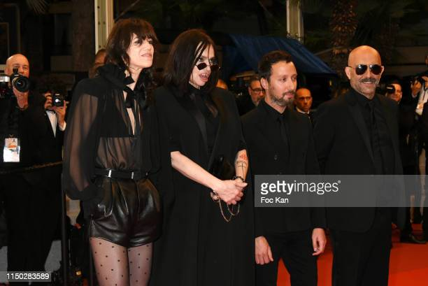 """Charlotte Gainsbourg, Beatrice Dalle, Anthony Vaccarello and Gaspar Noe attend the screening of """"Lux Aeterna"""" during the 72nd annual Cannes Film..."""