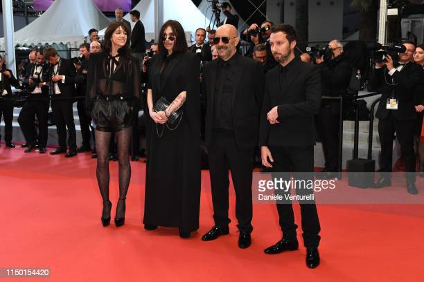 """Charlotte Gainsbourg, Beatrice Dalle, Gaspar Noe and Anthony Vaccarello attend the screening of """"Lux Aeterna"""" during the 72nd annual Cannes Film..."""
