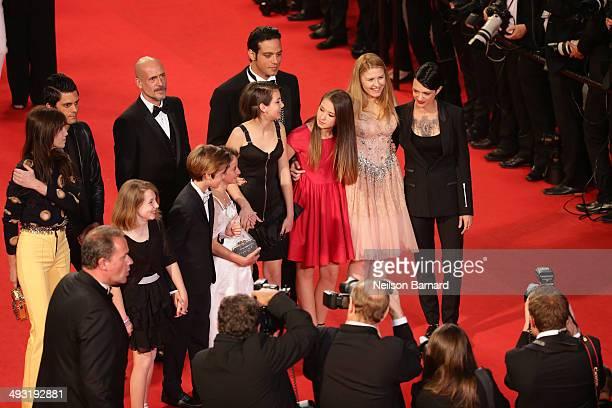 Charlotte Gainsbourg Justin Pearson Gabriel Garko Andrea Pittorino Giulia Salerno and director Asia Argento attends the 'Misunderstood' premiere...