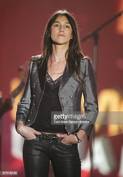 Charlotte Gainsbourg performs during the 25th Victoires de la Musique at Zenith de Paris on March 6 2010 in Paris France