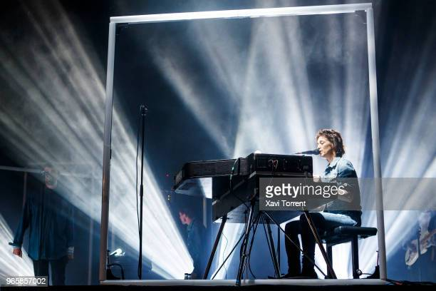 Charlotte Gainsbourg performs in concert during day 3 of the Primavera Sound Festival on June 1 2018 in Barcelona Spain