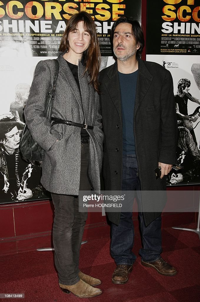 French premier of Martin Scorsese documentary film on the Rolling Stones 'Shine a light' at Olympia in Paris, France on April 9th, 2008 : News Photo