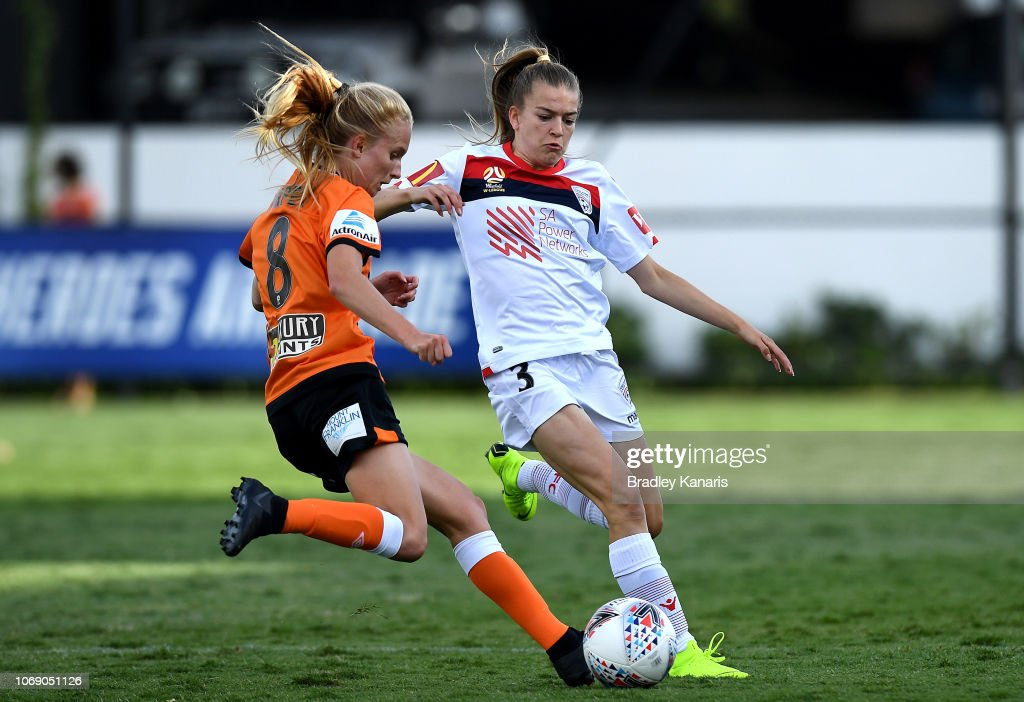 W-League Rd 3 - Brisbane v Adelaide : News Photo