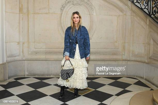 Charlotte Groeneveld attends the Christian Dior Haute Couture Spring Summer 2019 show as part of Paris Fashion Week on January 21 2019 in Paris France