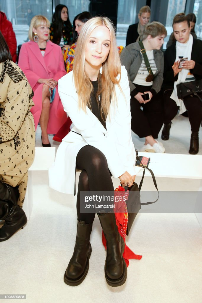 Carolina Herrera - Front Row - February 2020 - New York Fashion Week : News Photo