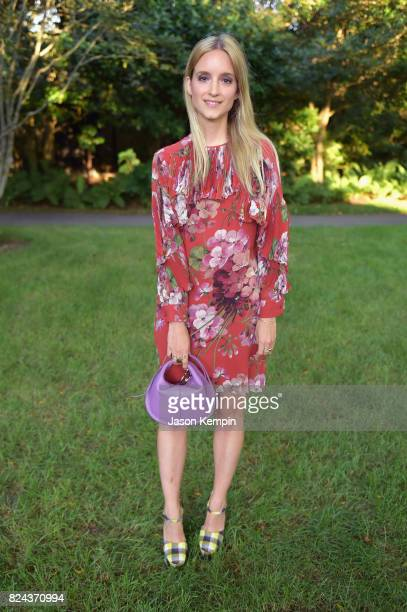 Charlotte Groeneveld attends The GOOD Foundation's Hamptons Summer Dinner cohosted by NETAPORTER on July 29 2017 in East Hampton New York